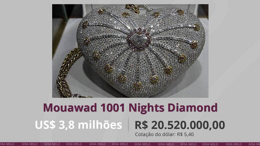 Bolsa Mouawad 1001 Nights Diamond